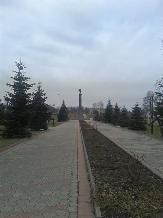 Аллея славы во Владикавказе