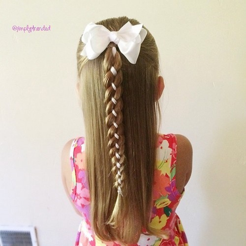 Детские причёски для маленьких девочек