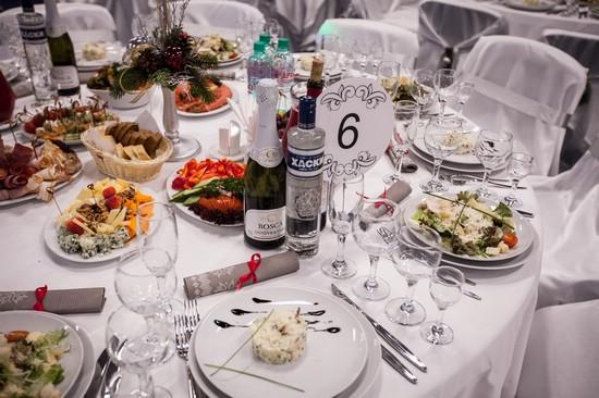 Еда на свадьбу