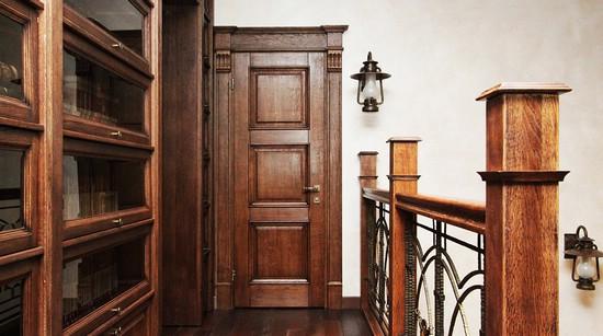 Элитные двери из массива