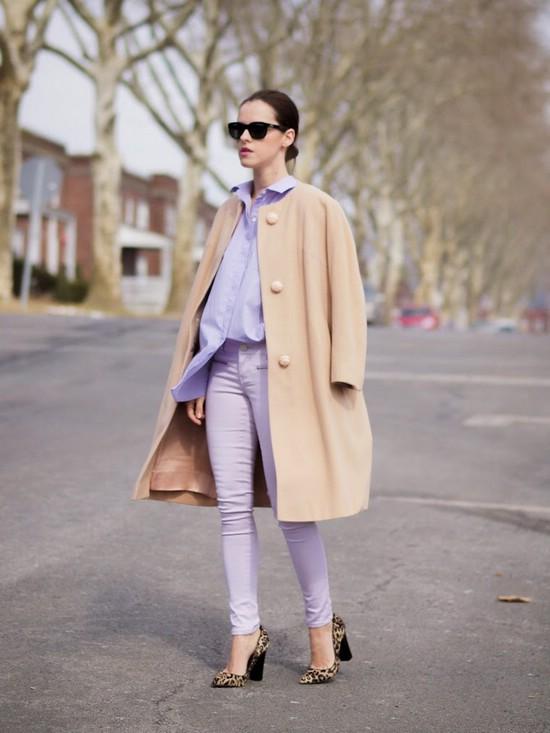 Как носить верблюжий цвет