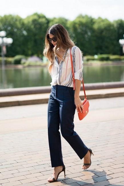 Как стильно одеваться бизнес-леди весной