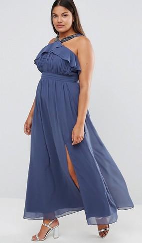 Как выбрать платье высокой девушке