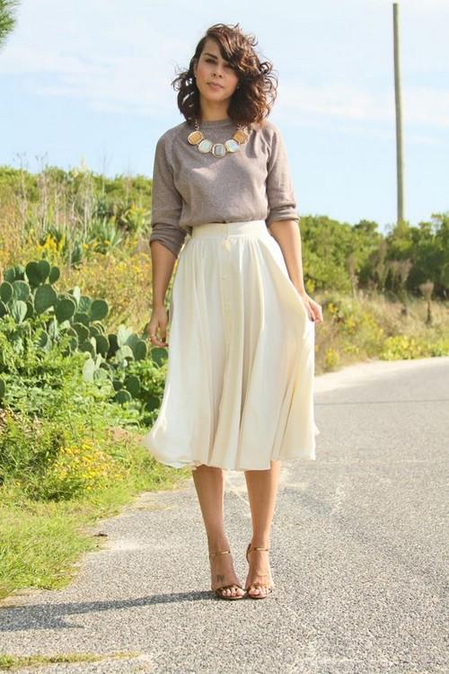 Как выбрать юбку по росту
