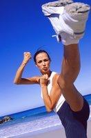 Легкие упражнения для зоны бедер и ягодиц