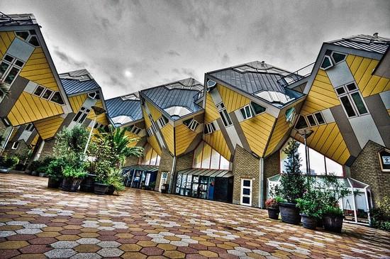 Cube House, Netherlands