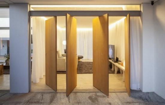 Необычный дизайн дверей