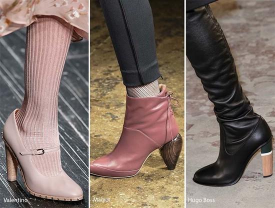 Модные фасоны обуви осени и зимы 2016-2017