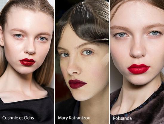 Модные направления в макияже на осенне-зимний период
