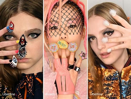 Модные тенденции в маникюре на осень и зимний пери