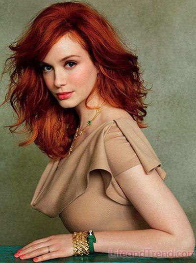 Окрашивание рыжих волос