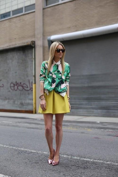 Пальмовые принты на одежде