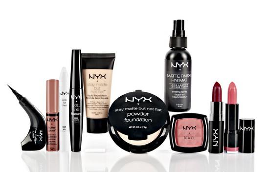 Профессиональная косметика для макияжа NYX