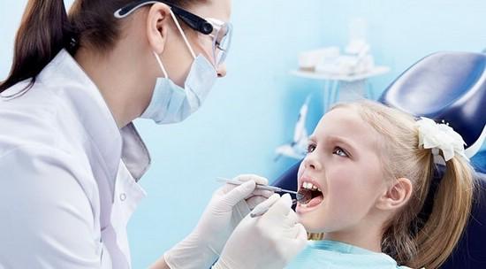 Ребёнок у стоматолога
