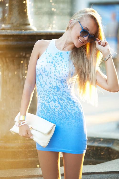 Как носить мини платье