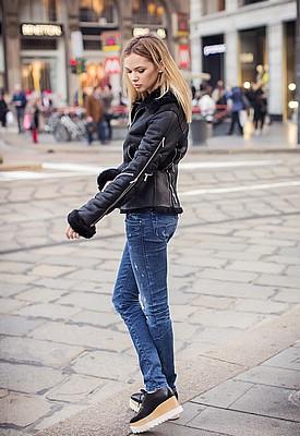 С чем носить обувь на платформе