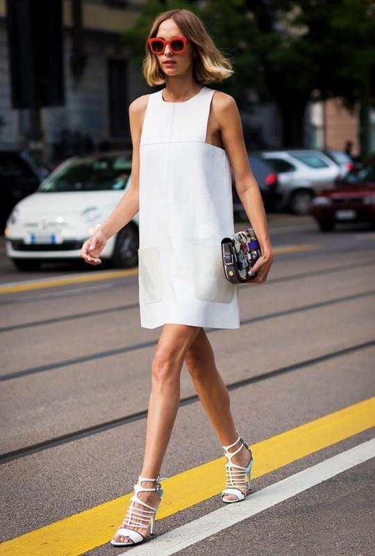 Платье-шифт