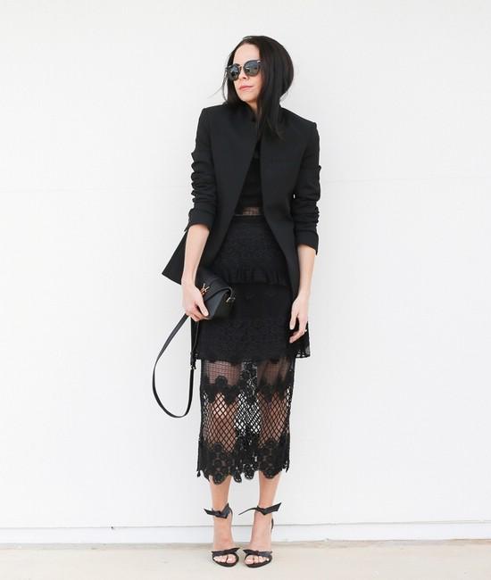 Стильная кружевная одежда