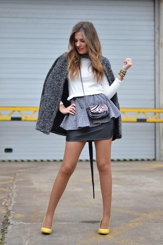 Серый цвет в одежде