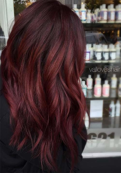 Сто оттенков красного: идеи окрашивания волос