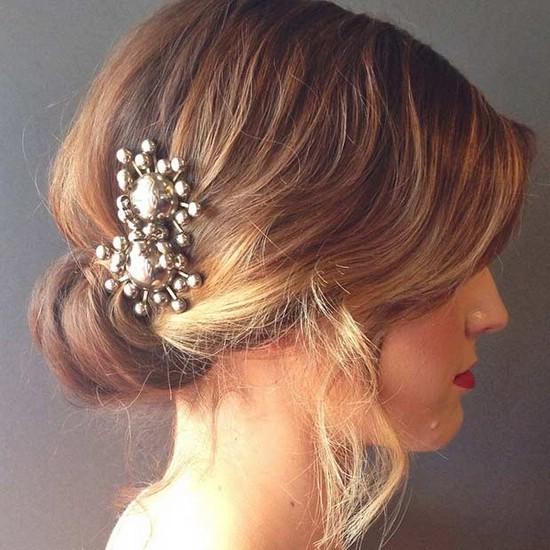 Свадебные причёски для коротких волос