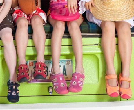 Выбор обуви для ребенка на лето